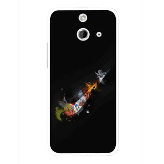 Snooky Printed All is Right Mobile Back Cover For HTC One E8 - Multicolour