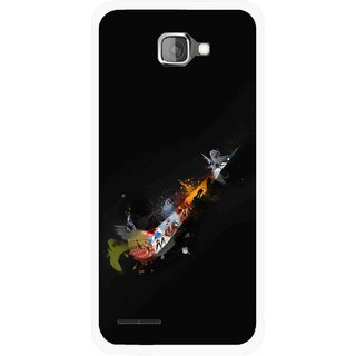 Snooky Printed All is Right Mobile Back Cover For Micromax Canvas Mad A94 - Multicolour