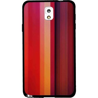 Snooky Printed Colorfull Stripes Mobile Back Cover For Samsung Galaxy Note 3 - Multi