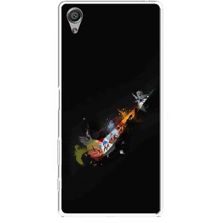 Snooky Printed All is Right Mobile Back Cover For Sony Xperia X - Multicolour
