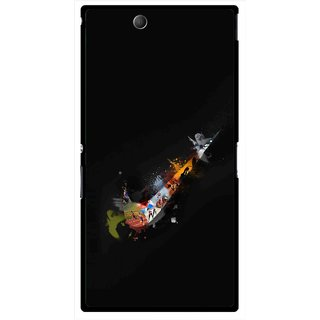 Snooky Printed All is Right Mobile Back Cover For Sony Xperia Z Ultra - Multicolour