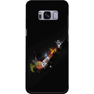 Snooky Printed All is Right Mobile Back Cover For Samsung Galaxy S8 - Multicolour