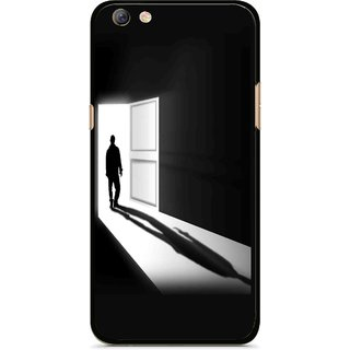 Snooky Printed Night Out Mobile Back Cover For Oppo F3 plus - Multi