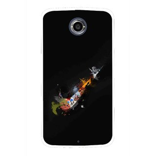 Snooky Printed All is Right Mobile Back Cover For Motorola Nexus 6 - Multicolour