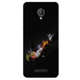 Snooky Printed All is Right Mobile Back Cover For Micromax Canvas Spark Q380 - Multicolour