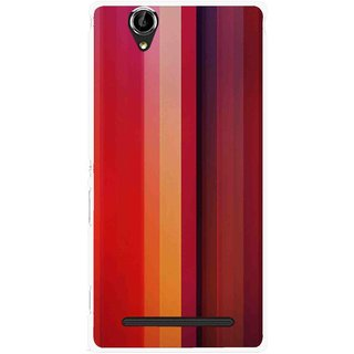 check out aa466 f1177 Snooky Printed Colorfull Stripes Mobile Back Cover For Sony Xperia T2 Ultra  - Multi