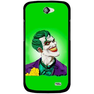 Snooky Printed Ismail Please Mobile Back Cover For Gionee Pioneer P2 - Green