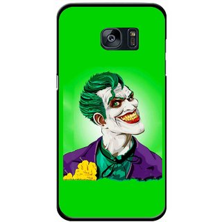 Snooky Printed Ismail Please Mobile Back Cover For Samsung Galaxy S7 - Green