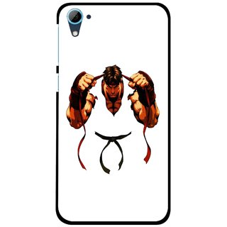 Snooky Printed Karate Boy Mobile Back Cover For HTC Desire 826 - Multi