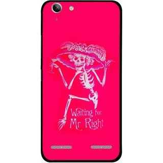 Snooky Printed Mr.Right Mobile Back Cover For Lenovo Vibe K5 Plus - Multi
