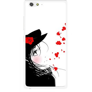 Snooky Printed Mistery Girl Mobile Back Cover For Gionee Elife S6 - Multi
