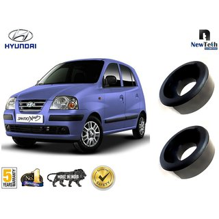 Hyundai Santro  Ground Clearance Kit (Fits : Above Rear Coil Springs) Set of 2 Pcs, Front not Required