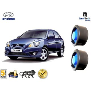 Hyundai Verna Transform Ground Clearance Kit (Fits : Below Rear Coil Springs) Set of 2 Pcs, Front not Required