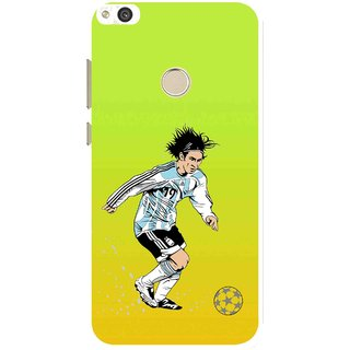 Snooky Printed Focus Ball Mobile Back Cover For Huawei P8 Lite (2017) - Multi