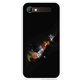 Snooky Printed All is Right Mobile Back Cover For Intex Aqua Y2 Pro - Black
