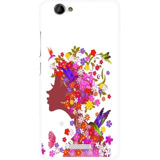 Snooky Printed Girl Beauty Mobile Back Cover For Gionee M2 - Multi