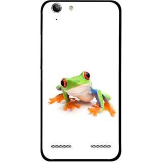 Snooky Printed Frog Mobile Back Cover For Lenovo Vibe K5 Plus - Multi