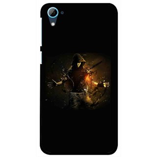 Snooky Printed Dancing Boy Mobile Back Cover For HTC Desire 826 - Multi