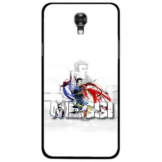Snooky Printed Messi Mobile Back Cover For Lg X Screen - White