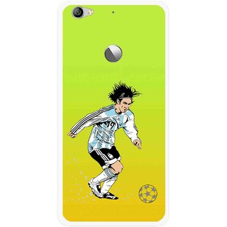 Snooky Printed Focus Ball Mobile Back Cover For Letv Le 1S - Multi
