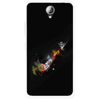Snooky Printed All is Right Mobile Back Cover For Lenovo A5000 - Black