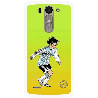 Snooky Printed Focus Ball Mobile Back Cover For Lg G3 Beat D722k - Multi