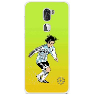 Snooky Printed Focus Ball Mobile Back Cover For Coolpad Cool 1 - Multi