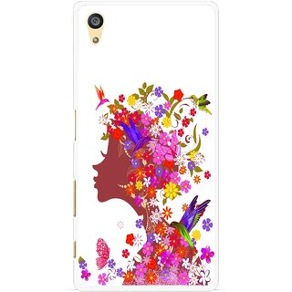 Snooky Printed Girl Beauty Mobile Back Cover For Sony Xperia Z5 Plus - Multi
