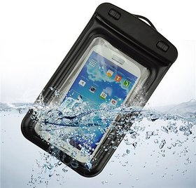 Transparent Waterproof Pouch For All Smartphones (Upto 6.6 Inches) Assorted Colors