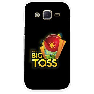 Snooky Printed Big Toss Mobile Back Cover For Samsung Galaxy j2 - Multicolour