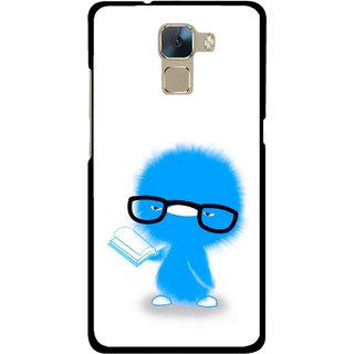 Snooky Printed My Teacher Mobile Back Cover For Huawei Honor 7 - Multi