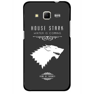 Snooky Printed House Stark Mobile Back Cover For Samsung Galaxy Core Prime - Multicolour