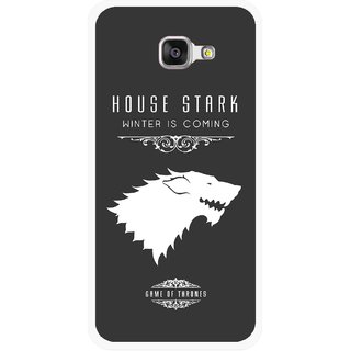 Snooky Printed House Stark Mobile Back Cover For Samsung Galaxy A3 (2016) - Multicolour