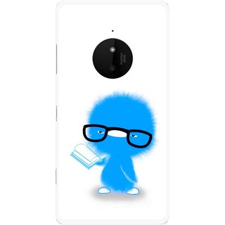Snooky Printed My Teacher Mobile Back Cover For Microsoft Lumia 830 - Multi