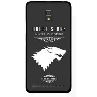 Snooky Printed House Stark Mobile Back Cover For Lenovo A6600 - Multicolour