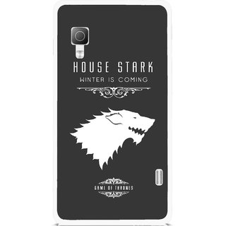 Snooky Printed House Stark Mobile Back Cover For Lg Optimus L5II E455 - Multicolour