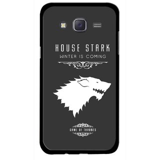 Snooky Printed House Stark Mobile Back Cover For Samsung Galaxy J5 - Multicolour