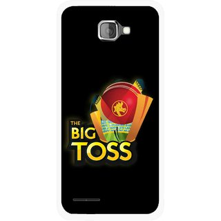 Snooky Printed Big Toss Mobile Back Cover For Micromax Canvas Mad A94 - Multicolour