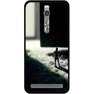 Snooky Printed God Door Mobile Back Cover For Asus Zenfone 2 - Multi