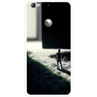 Snooky Printed God Door Mobile Back Cover For Letv Le 1S - Multi