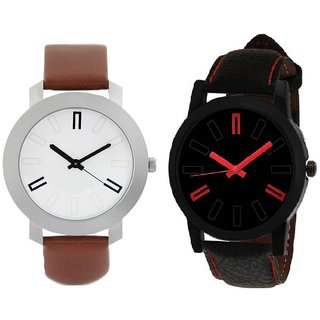 LEDHAR STRAP ROUND DIAL COMBO TYPE ANLOGE  WATCH FOR BOYS