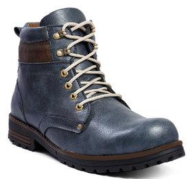 Baton Men's Blue Stylish outdoor Boot