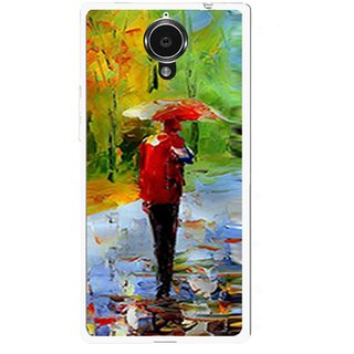 Snooky Printed Painting Mobile Back Cover For Gionee Elife E7 - Multi