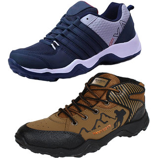 Armado Men's-Multicolor Combo Pack of 2 Training Shoes