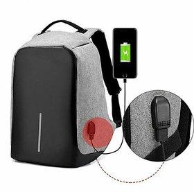 Waterproof Anti-Theft backpack / laptop bag / camera bag with USB plug charging port