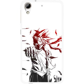 Snooky Printed Marshalat Mobile Back Cover For HTC Desire 626 - Multi