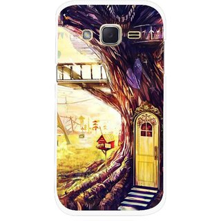 Snooky Printed Dream Home Mobile Back Cover For Samsung Galaxy j2 - Multicolour