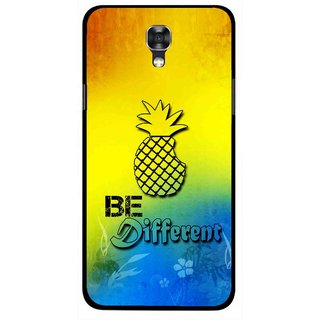 Snooky Printed Be Different Mobile Back Cover For Lg X Screen - Multi