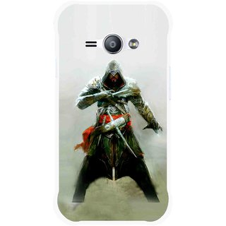 Snooky Printed The Thor Mobile Back Cover For Samsung Galaxy Ace J1 - Green
