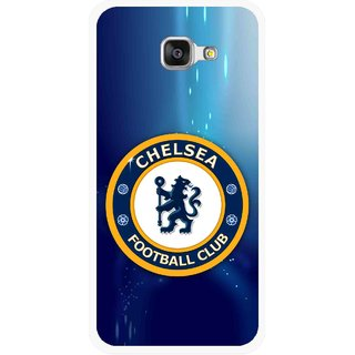 Snooky Printed Football Club Mobile Back Cover For Samsung Galaxy A5 2016 - Multicolour